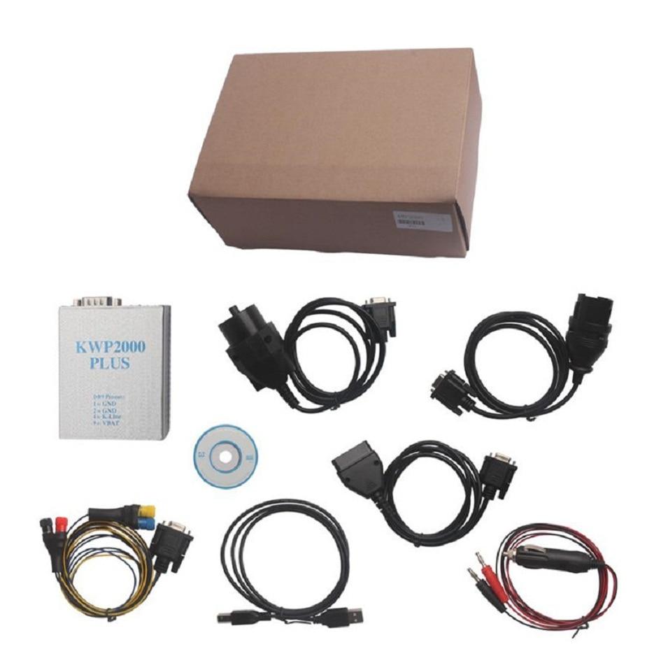 Цена за KWP2000 Плюс ECU REMAP Flasher OBD2 ЭКЮ KWP 2000 Чип-Тюнинг EOBD/OBD2/OBD Тюнинг Инструмент