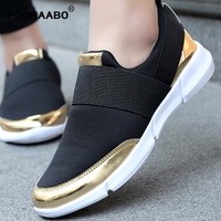 Brand Women Casual Loafers Breathable Summer Flat Shoes Woman Slip On Casual Shoes New Zapatillas Flats