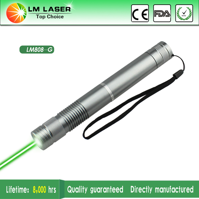 300mw 532nm Green Laser Pointer Flashlight High Powered Burning Laserpointer for Sale with 18650 Battery+Al Box+Charger+5 Lens