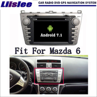 Liislee Android 7 1 2G RAM For Mazda 6 GH1 Ruiyi Ultra Car Radio Audio Video