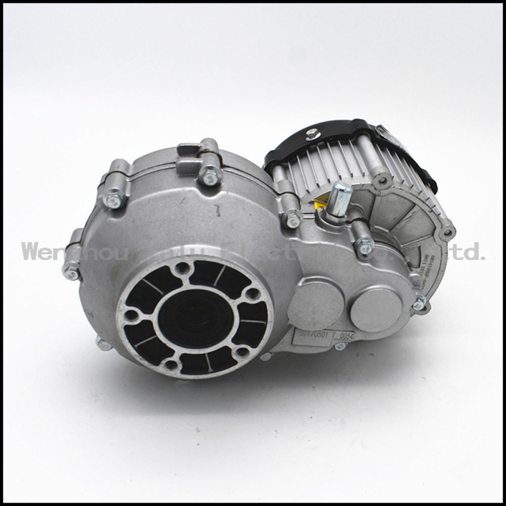 Electric tricycle fittings DC brushless differential motor BM1418HQF(BLDC)350W 48V worm Gearmotor