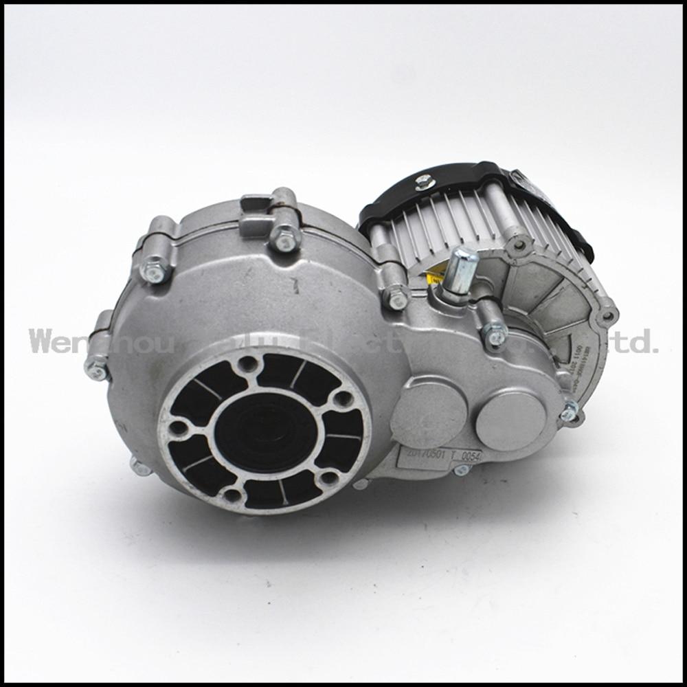 전기 세발 자전거 이음쇠 DC 무 브러시 차동 모터 BM1418HQF (BLDC) 350W 48V 벌레 Gearmotor