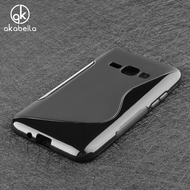AKABEILA Phone Case For Samsung Galaxy J1 2016 J120 J120F J120H Duos SM-J120 SM-J120F 4.5 inch Case Flexible Cover Silicon Shell