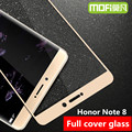 Huawei honor nota 8 mofi original capa completa de vidro temperado hauwei honor nota 8 protetor de tela de vidro filme vidro note8 Huwei