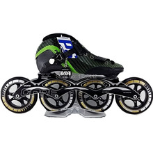 Powerslide Vision inline skating shoes speed skate skating shoes ps skating wheels 90mm 100mm 110mm