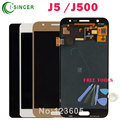 Full LCD Screen For Samsung Galaxy J5 J500 LCD Display Digitizer Touch Screen Assembly Gold Black White +Tools Free Shipping