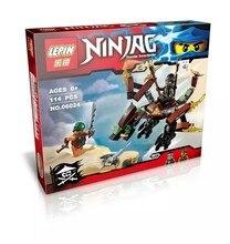 Hot arrival new LEPIN 06024 Cole s Dragon Ninjagoed Ninja Building Block Model Kids Bricks Toys