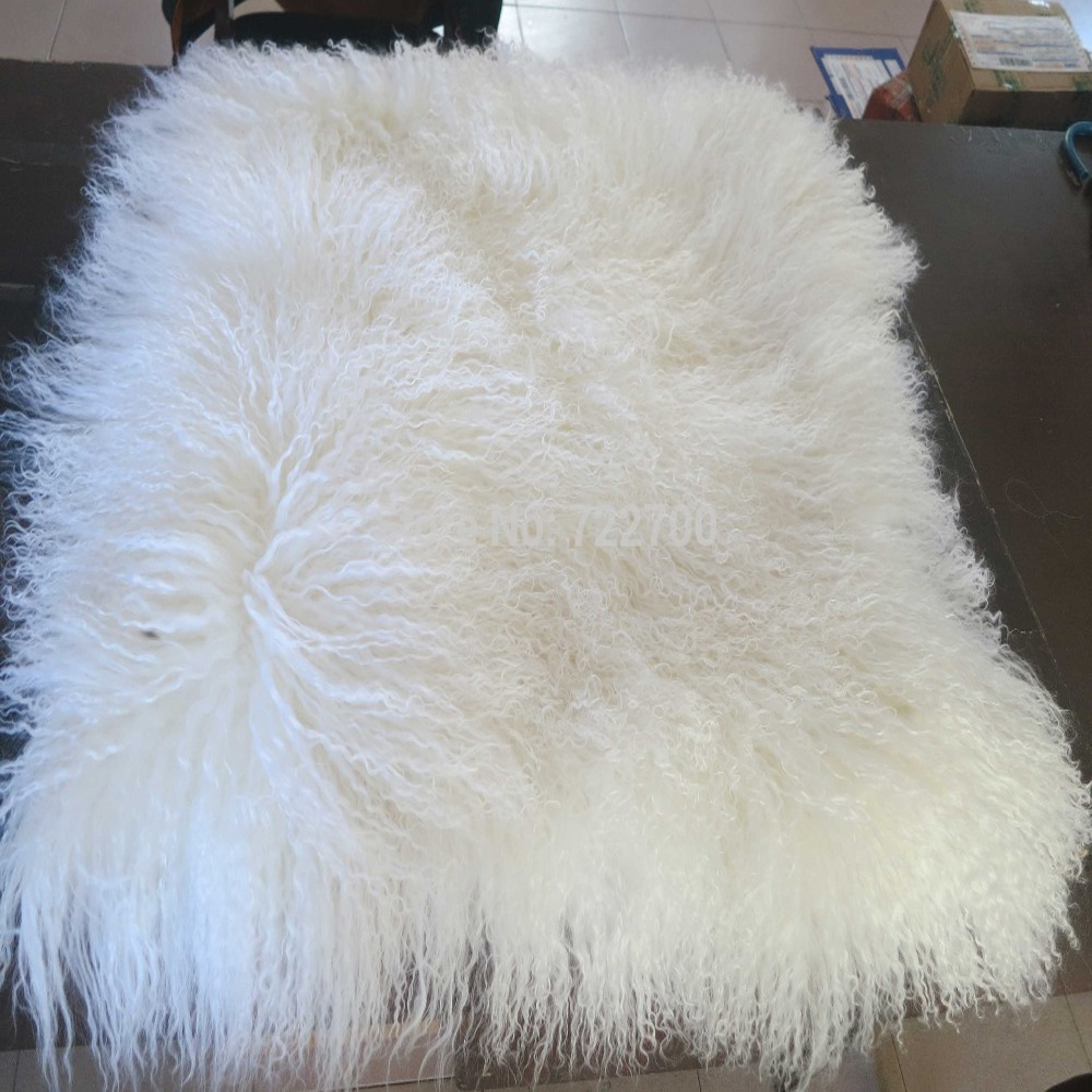2 cushion sofa family room and loveseat new real white tibetan lamb fur pillow cover chair ...