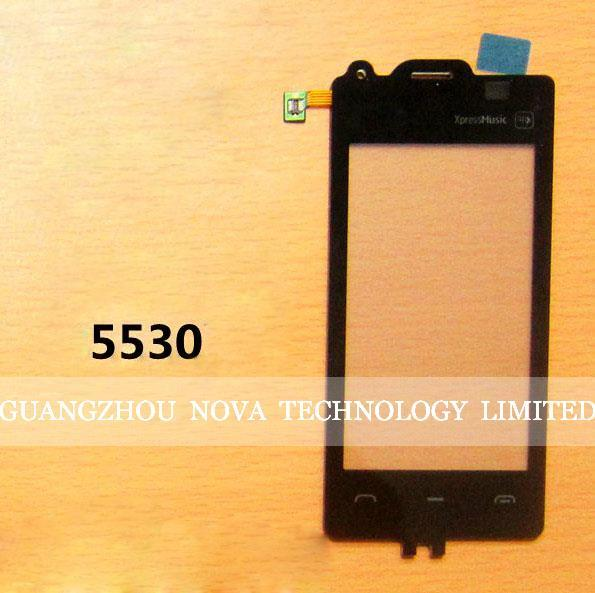 100% Guarantee Digitizer For Nokia 5530 Xpressmusic digitizer Touch Screen Replacement Parts; Free Shipping