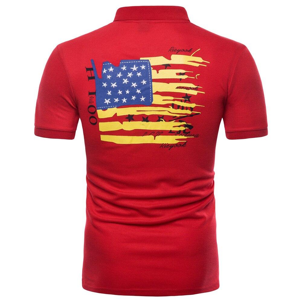 09a3da94e27a Mens Polo Shirt With American Flag « Alzheimer's Network of Oregon