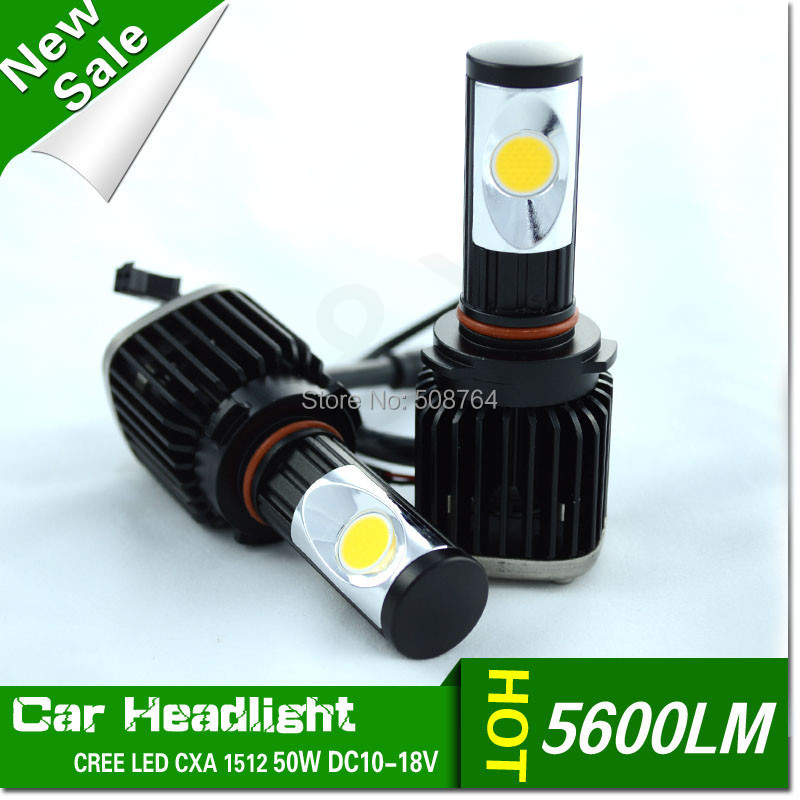 Car 50W 5600LM LED Headlight Canbus Kit For 9006 HB4 low Beam Xenon White Replace HID,9005 HB3 9006 HB4 H7 H8 H11 Available