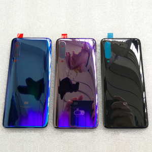 3D szkło dla mi 9 pokrywa baterii Case części zamienne dla Xiao mi 9 mi 9 mi 9 tylna pokrywa baterii drzwi obudowa telefonu Case darmowa wysyłka