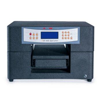 6 Colors A4 Size UV LED Flatbed Inkjet Printing UV Printer For PVC Card Ceramic