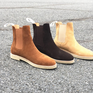 Image 5 - Handmade Luxury Brand Cow Leather Autumn Winter Men Boots Fashion Pointed Toe Wedding Chelsea Boots Vintage Motorcycle Boots