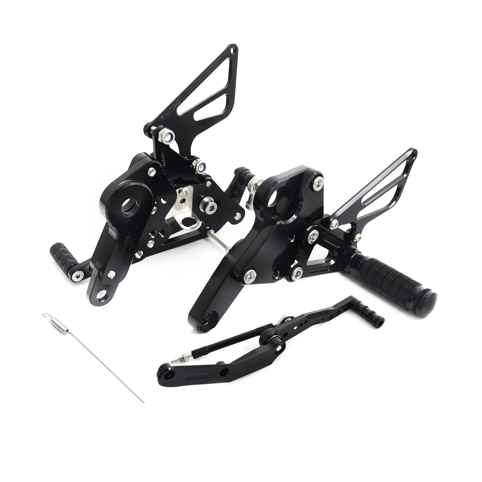 NICECNC CNC Adjustable Rearsets Foot Peg Footrest Footpeg For For Yamaha MT 09 MT09 FZ09 FZ 09 2013 2014 2015 2016