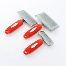 1PC Steel Need Comb for Dog Cat Yokie Gilling Brush Dog Rake Comb Massage Grooming Tools Pet Beauty Brush Dog Accessories hot sale pet grooming tools anti static massage steel needle comb for puppy