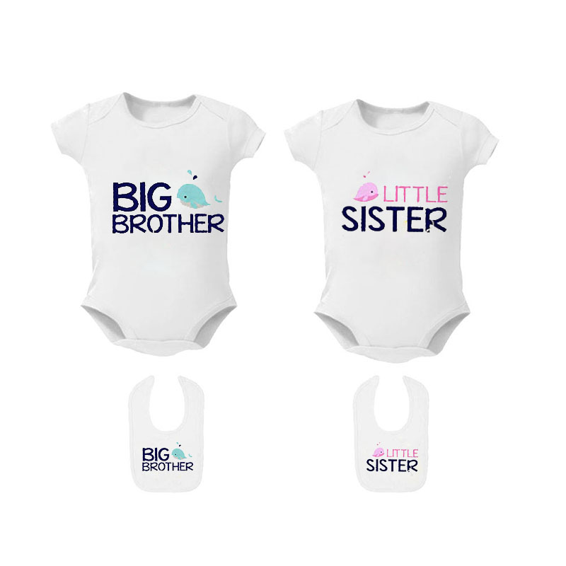 bodysuits and bibs. Little//Big Brother Little//Big sister t-shirts