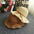 2017 Корейской версии ручной вентилятор вентилятор цветок шляпа солнцезащитный крем солнцезащитный крем дети летний день складной бассейна крышка рыбак пляж