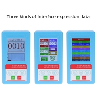 PM1.0 PM 2.5 PM10 Gas Analyzer 9 Kinds Particles Detector Air Quality Monitor Free ship
