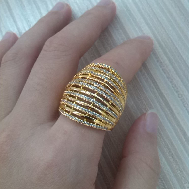 New Very Big Gold Ring | Jewellry\'s Website
