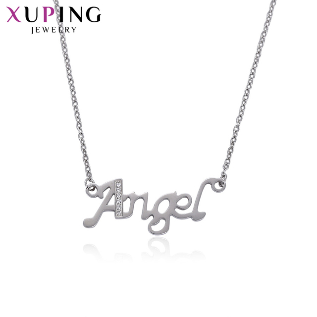 Xuping Elegant Necklace Pendant Exquisite with Synthetic Cubic Zirconia Jewelry for Women Design Valentine's Gifts S57-43369