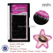 Nono silk lash black eyelashe extension Supper lash black diamond eyelashes wimpers individuel natural false eyelashes