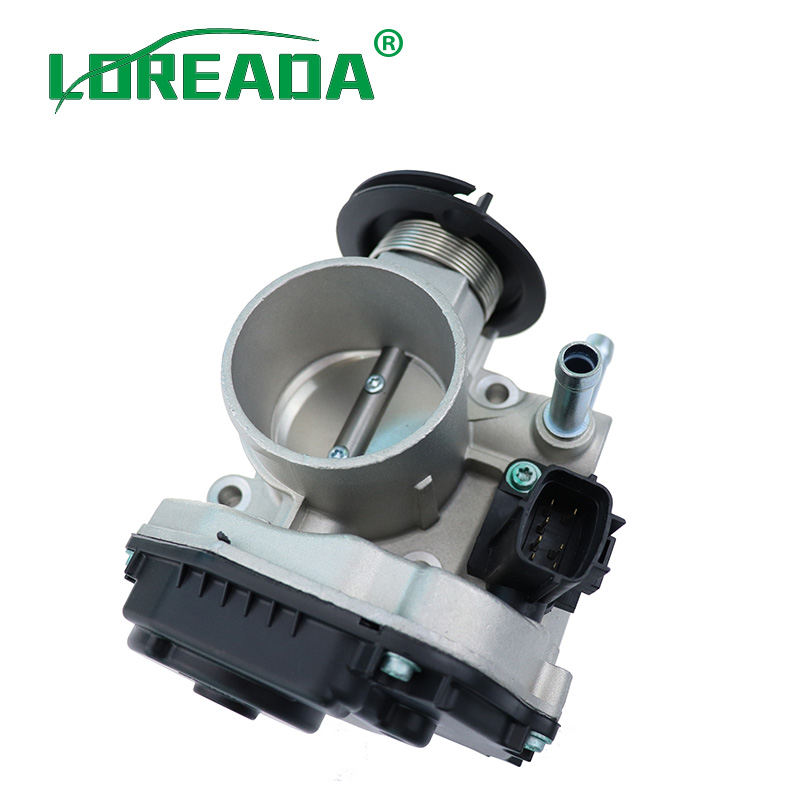 Image 3 - LOREADA Throttle Body Assembly 96394330 96815480  Air Intake System For Chevrolet Lacetti Optra J200 Daewoo Nubira 1.4i 1.6i-in Throttle Body from Automobiles & Motorcycles
