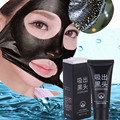 Black Mask Facial Mask Nose Blackhead Remover Peeling Peel Off Black Head Acne Treatments Face Care Suction for free shipping