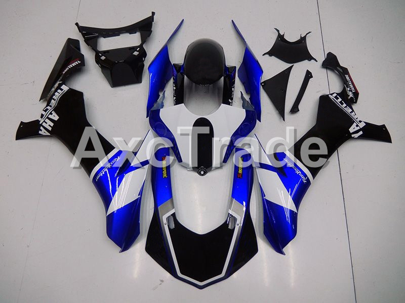 Injection Molding Motorcycle ABS Plastic Bodywork Fairing Kit Fit For Yamaha YZF1000 R1 2015 2016 2017 Blue Parts YZF-R1 1000 15 fit for yamaha yzf 600 r6 1998 1999 2000 2001 2002 yzf600r abs plastic motorcycle fairing kit bodywork yzfr6 98 02 yzf 600r cb20