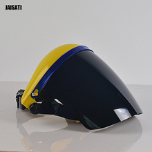 Усиленный прозрачный защитная маска анти-всплеск анти-шок поликарбонат охраны труда маска сварочная маска