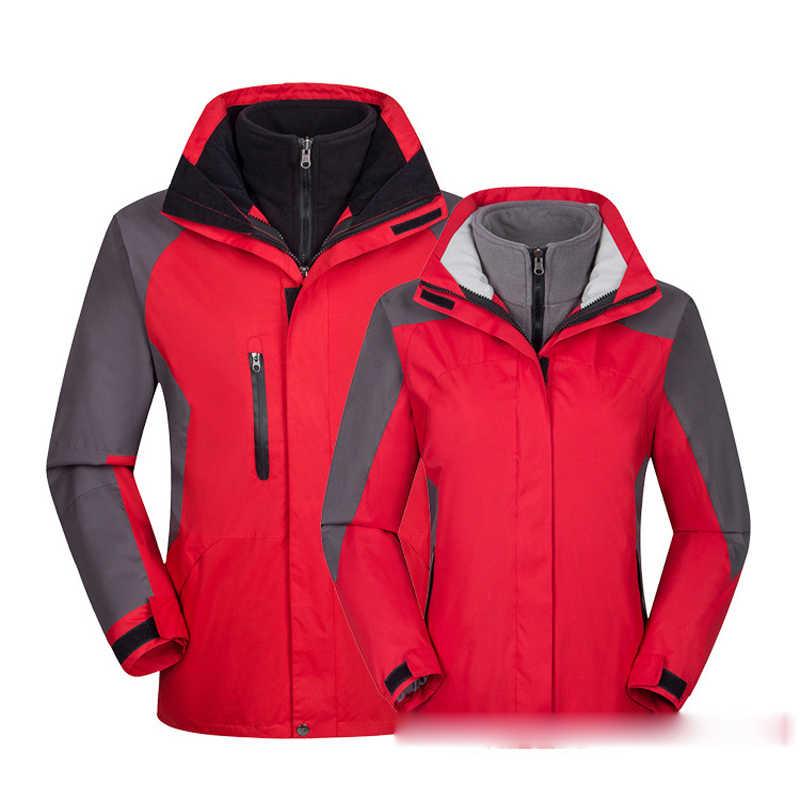 Herenkleding jas herfst winter outdoor Camping wandelen jassen mannen vrouwen Hooded Thermische Windjack mannelijke warme parka jassen