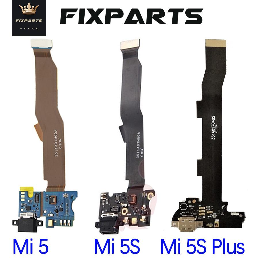 For Mi5 MI 5S Plus 5X Charging Port Flex Cable Replacement Parts USB Dock Charger Flex Cable For Xiaomi Mi5 Mi5S Plus