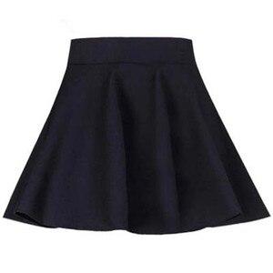 Image 2 - Короткая юбка для женщин, школьная одежда на весну, лето, осень и зиму