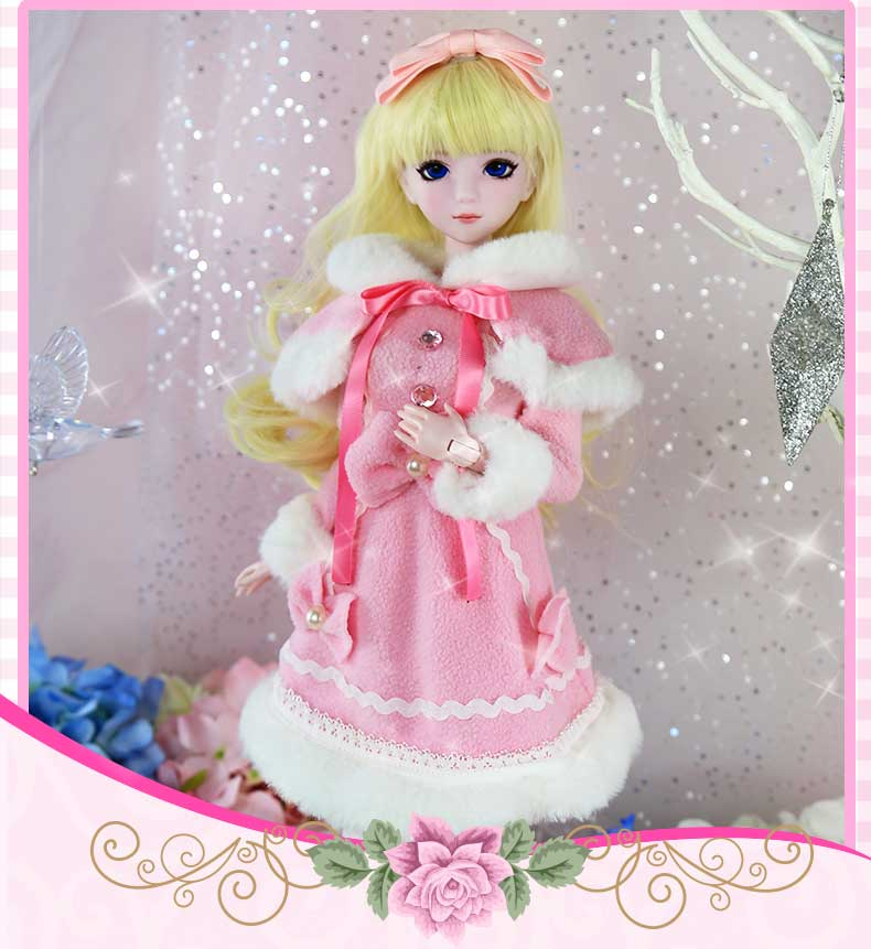 50cm 1/4 new arrival blyth BJD Doll 14 jointed dolls  Hair + Makeup + Cloth +shoes for kids birthday50cm 1/4 new arrival blyth BJD Doll 14 jointed dolls  Hair + Makeup + Cloth +shoes for kids birthday