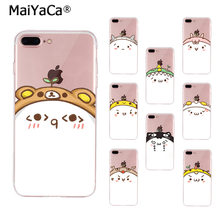 MaiYaCa Funny cartoon cat expression DIY Luxury High-end Phone Case for Apple iPhone 8 7 6 6S Plus X 5 5S SE XS XR XS MAX(China)