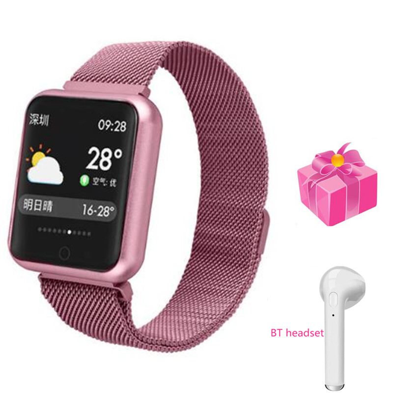 Pedometer bracelet in Russian Smart band with hear rate monitor Smart watch blood pressure for huawei