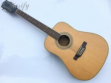 high quality full size 12 string acoustic guitar with free string