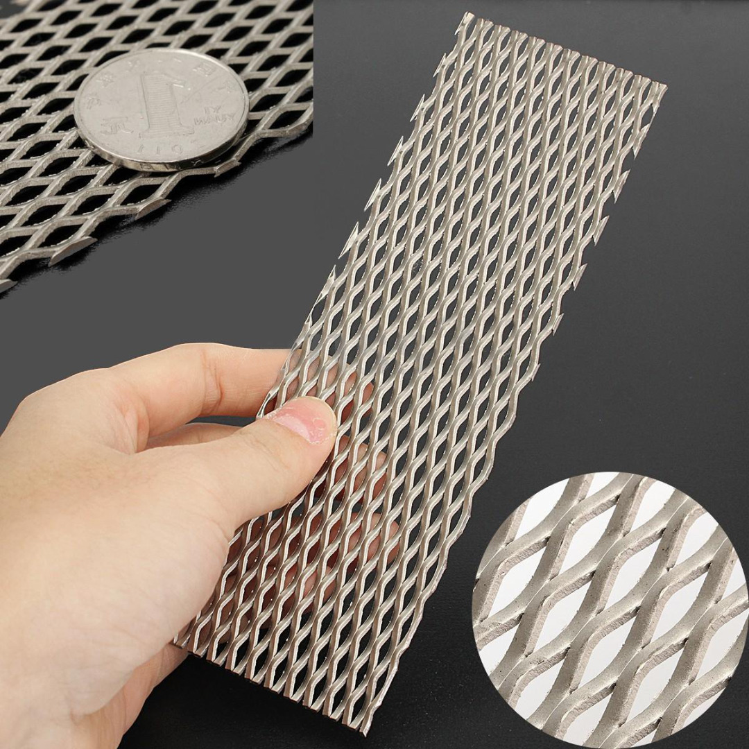 1pc New Titanium Mesh Sheet Heat Resistance Recycled Metal Mesh Electrode For Electrolysis 50mmx165mm 6 mesh best price aperture 3 2mm titanium electrode mesh network for chemical filter sewage treatment sales 10cm 100cm