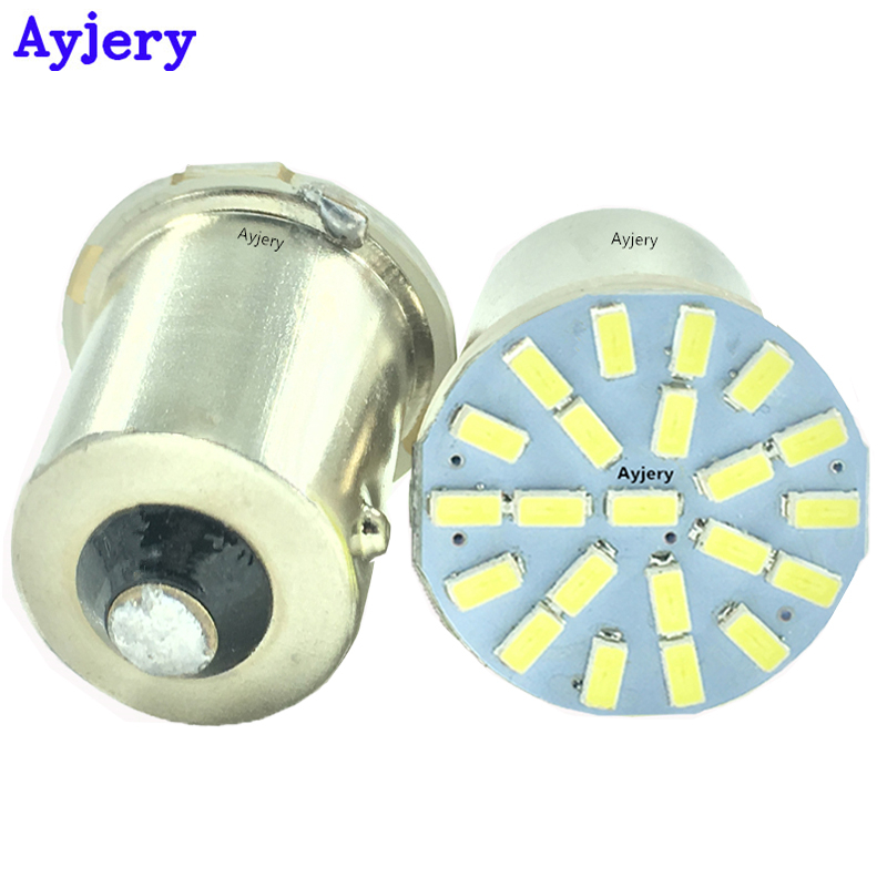 Ingenious Newest 20-50pcs/lot 1156 Ba15s 1157 Bay15d T20 3156 3157 7440 7443 3020 22 Smd Led Bulbs Dc 12v Parking Turn Signal Brake Lights Signal Lamp Automobiles & Motorcycles
