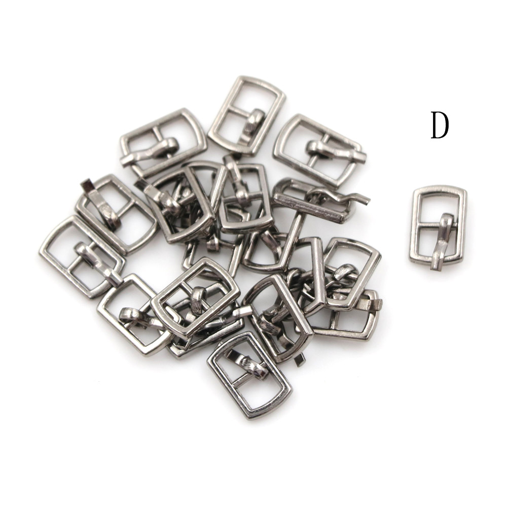 3/10PCS 4.5mm Mini Buckle DIY Patchwork Buckle For Dolls Clothing Adjustable Accessories Handmade Sewing 8