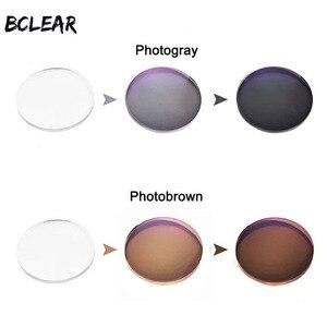 Image 3 - Bclear 1.56 카멜레온 프리폼 다중 초점 프로그레시브 포토 크로 믹 전환 렌즈 근시 및 노안경 독서 용 안경