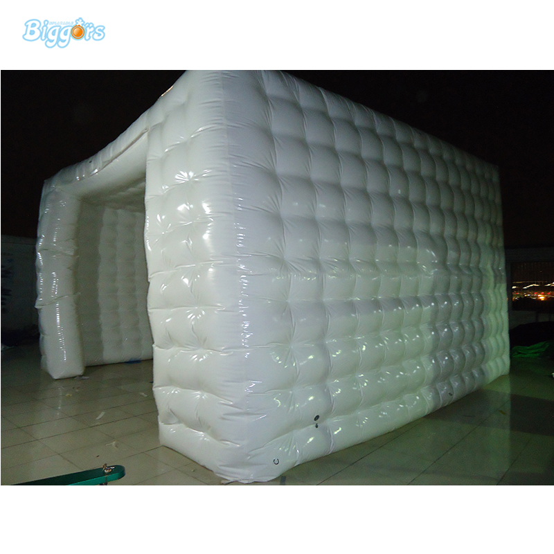 White Inflatable Cubic Cube Tent For Exhibition Or Party Event free shipping lighting large inflatable spider tent for party event exhibition rental