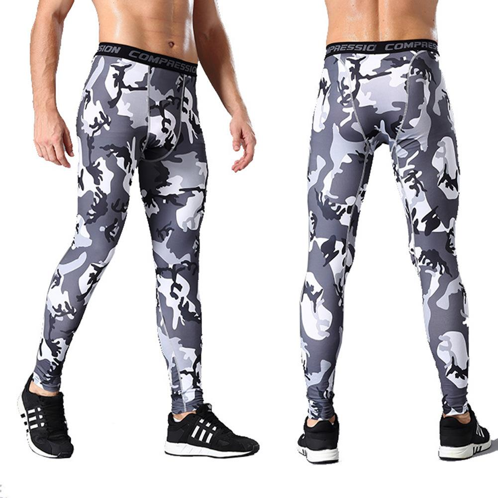 2ef43c7aa0 Sports Pants Mens Compression Tights Quick-drying Pants Outdoor Running  Training Basketball Pants Wear Fitness Pants Leggings | Oceania