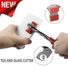Amazing Tile And Glass Cutter for Ceramic, Floor, Mirror, Stained Glass Mosaics Tile trimming tool pliers Tile and glass cutter flower patchwork ceramic tile sticker 5pcs