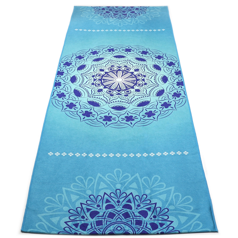 Luxury Sweat Grip Mat Towel: Non Slip Yoga Mat Towel Microfiber For Hot Yoga Printed