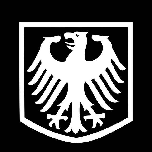 13139cm German Eagle Badge Shaped Car Body Decal Accessories