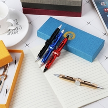 Новинка Спиннер металлическая ручка антистресс игрушечные ручки Шариковая ручка дети студент