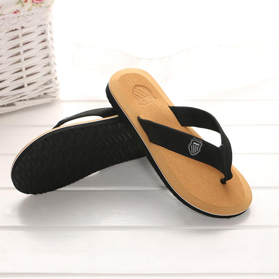 6fd52462b20a74 New Arrival Best Selling Men s Leisure Summer Flip flops Slippers Beach  Sandals Indoor Outdoor Casual Shoes-in Flip Flops from Shoes on  Aliexpress.com ...