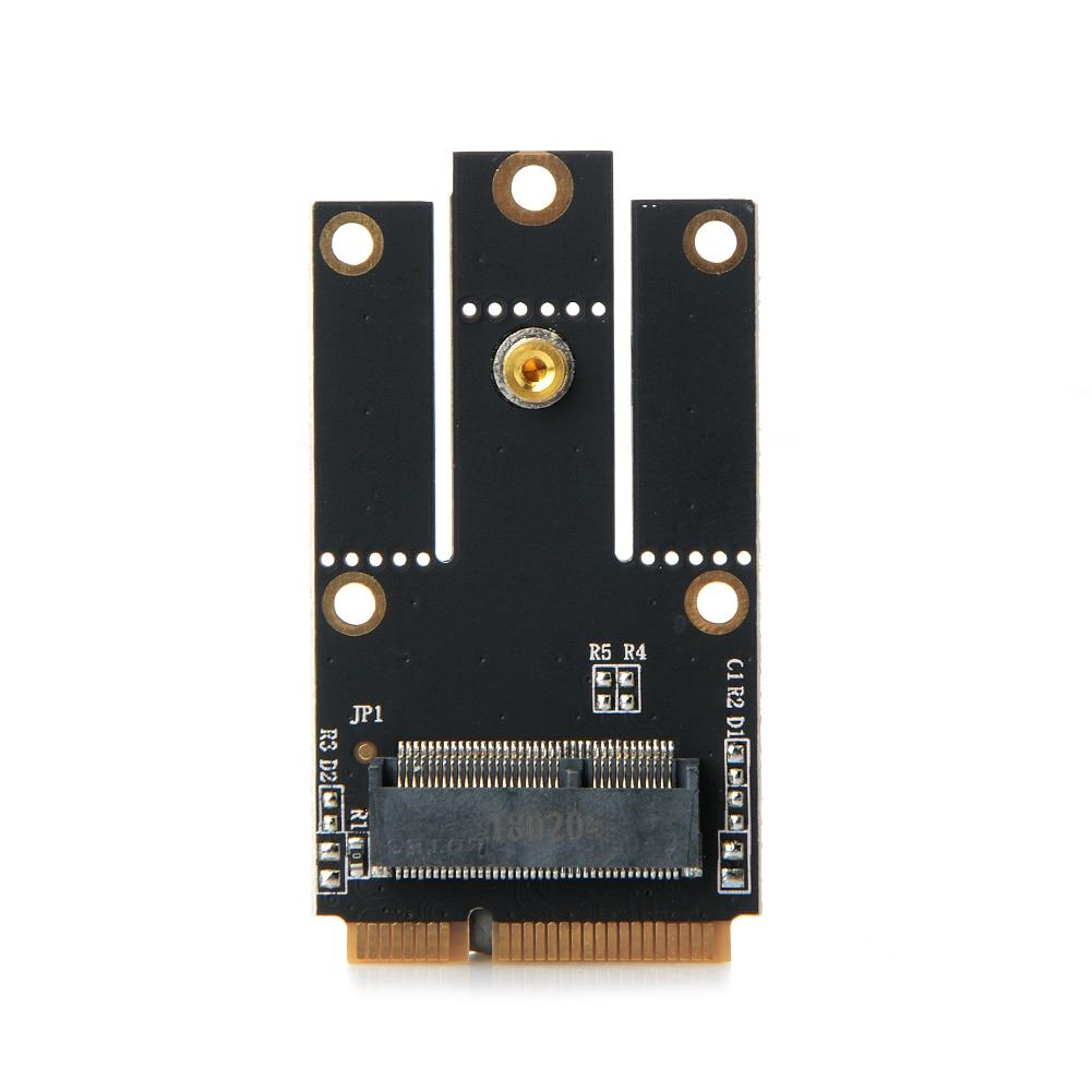 M.2 NGFF Key A to Mini PCI-E PCI Express Converter Adapter for Intel 9260 8265 7260 AC NGFF Wifi Bluetooth Wireless Card стоимость
