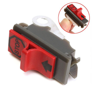 On Off Flameout Mini Motor Tool Gardening Plastic Chain Saw Home Engine Parts Replacement Fitting Stop Switch For Husqvarna(China)